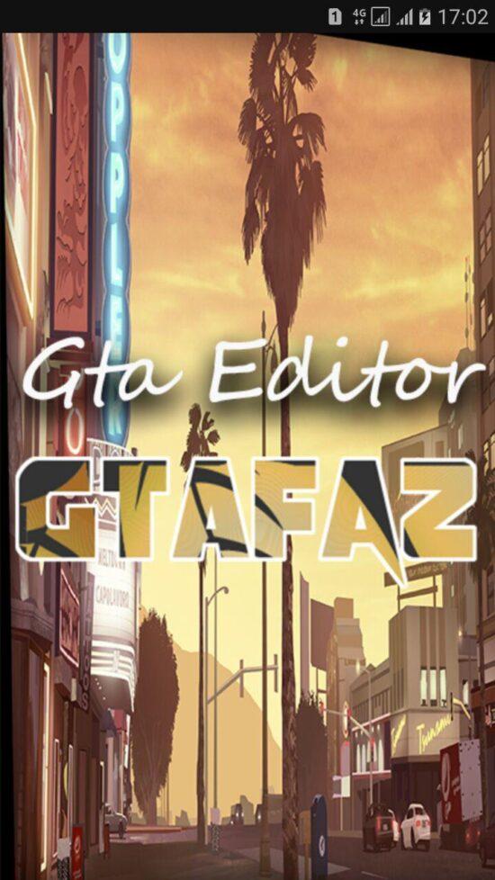 اپلیکیشن آندروید Gta Editor
